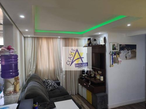 Imagem 1 de 22 de Apartamento À Venda, 48 M² Por R$ 239.000,00 - Parque São Vicente - Mauá/sp - Ap0458