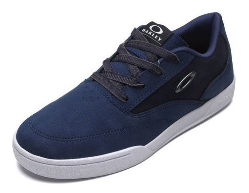 Tenismasculino Skate Casual Oakley Frequency Azul