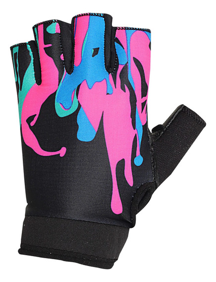 Guantes Cabras Fitness Mujer Negro