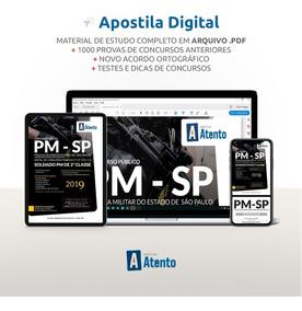Apostila Pm-sp Soldado 2° Classe - 2019