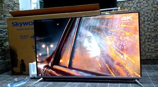 Smart Tv Skyworth 55 4k Nuevo En Caja Un Año De Garantia..