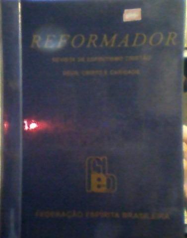 Reformador-12 Revistas De Espiritismo-ano 2004 Encadernadas