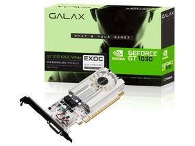 Placa De Vídeo Geforce Gt 1030 Exoc 2gb Gddr5 / 384 Cudas