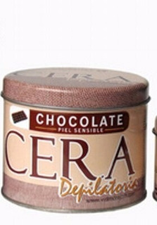 Vidmore Cera Depilatoria Chocolate Sensible + Lienzos 500gr