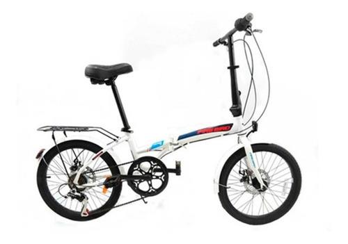 Bici Plegable Fire Bird Folding Freno A Disco Rodado 20