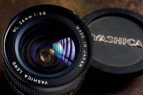 Yashica Ml 24mm F2.8 - Full Frame - Estado De Nova