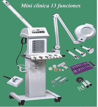 Mini Clinica 13 Funciones Robot Para Estetica