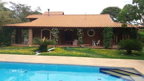 Imagem 1 de 30 de Chácara Com 8 Dormitórios À Venda, 10000 M² Por R$ 1.500.000,00 - Caçapava Velha - Caçapava/sp - Ch0073
