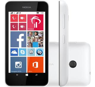 Smartphone Nokia Lumia 530 4gb Dual 5mp Branco Vitrine 1