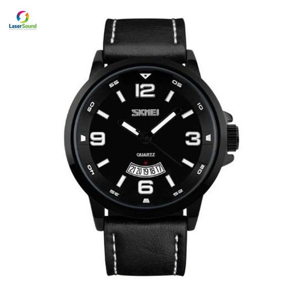 Relógio Masculino Skmei 9115 Preto C/ Garantia E Nf