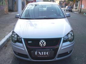 Vw Polo Gt 2.0 Mi Total Flex 8v 5p Prata 2009