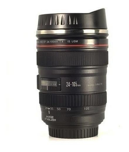 4xcaneca Térmica Lente Canon Ef 24-105mm 1:4 Usm Câmera Copo