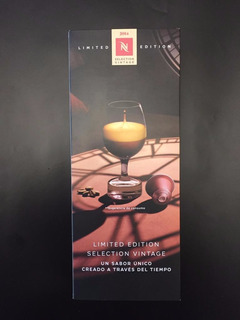 Cápsulas Nespresso Limited Edition Selection Vintage 2014