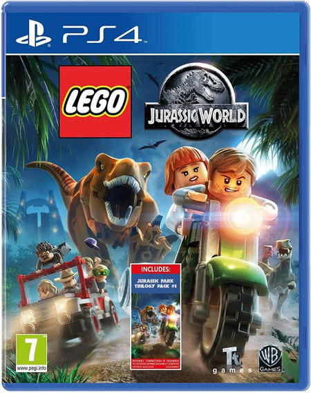 Lego Jurassic World Ps4 Midia Digital Primaria