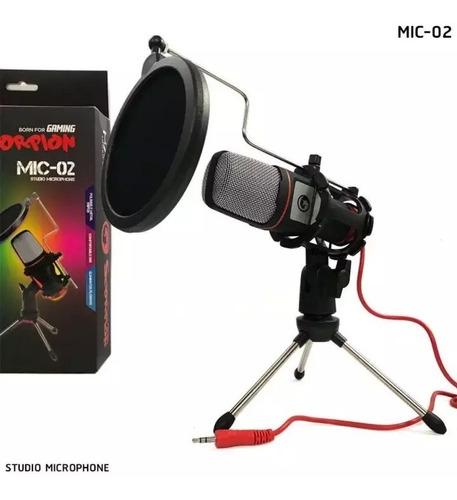 Micrófono Studio Marvo Mic02