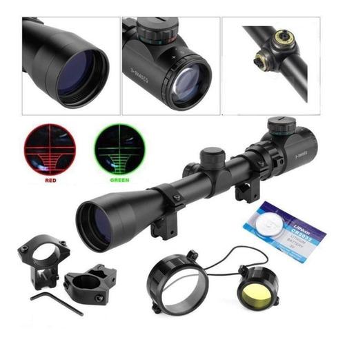 Mira Telescopica Bushnell 3-9x40 Rifles Retícula Iluminada!!