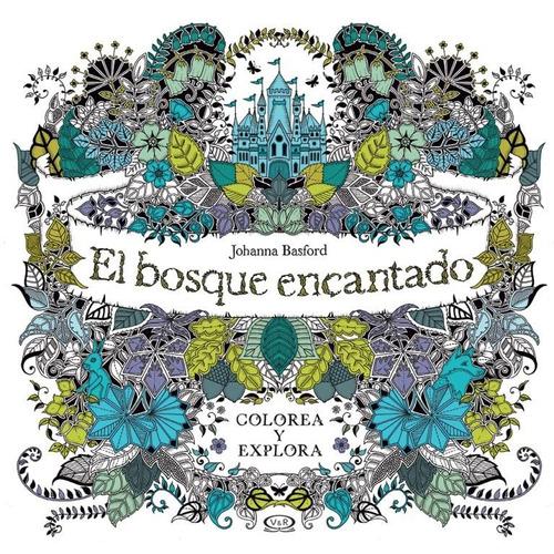 V&r Arte Para Colorear El Bosque Encantado (1274)