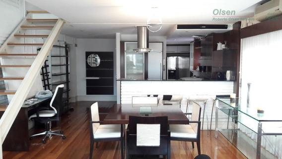 Loft Com 1 Dormitório Para Alugar, 118 M² - Itaim Bibi - São Paulo/sp - Lf0009