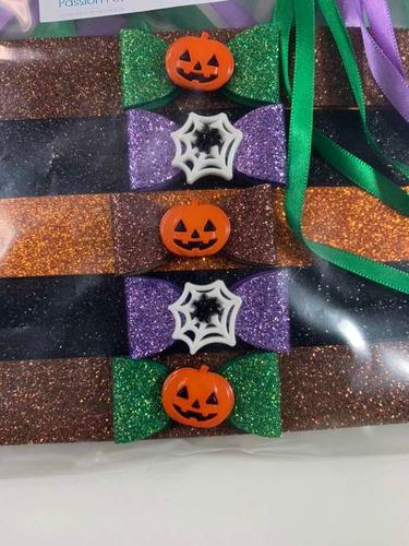 Imagem 1 de 3 de Pets Gravatinha Feminina Halloween - 10 Unidades