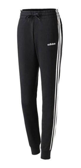 Pants adidas Essentials 3 Franjas Du0468 Negro/blanco