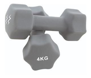 Mancuernas Neoprene 4 Kg Zoom Fitness
