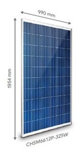 Panel Solar Fotovoltaico Chint Chsm6612p-325w