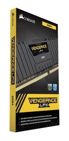 Memória Ram Ddr4 16 Gb (2x8) Vengeance Lpx Corsair