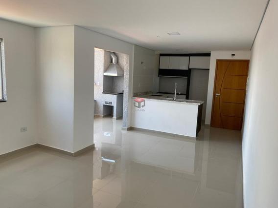Apartamento À Venda, 3 Quartos, 2 Vagas, Campestre - Santo André/sp - 81498