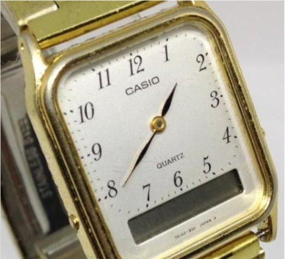 Relógio De Pulso Casio T02112 Digital/analógico Webclock