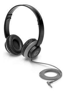 Audifonos Hp 200 Black Stereo Heads 2vb08aa