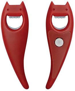 Alessi Diabolix Magnet Aleesi Abc01 Rm, Red