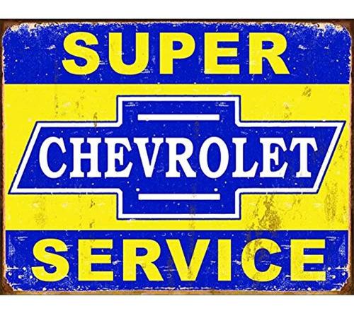 Imagen 1 de 2 de Empresas Desesperadas Super Chevy Servicio Metal Coleccionab