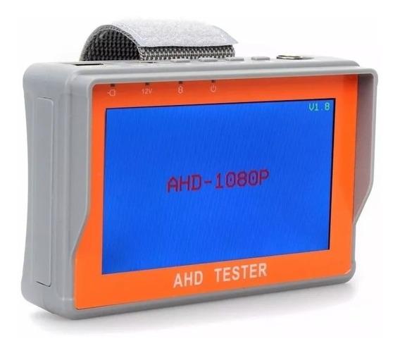 Monitor 4.3 Tester Testador De Camera Ahd E Analogica - Cftv
