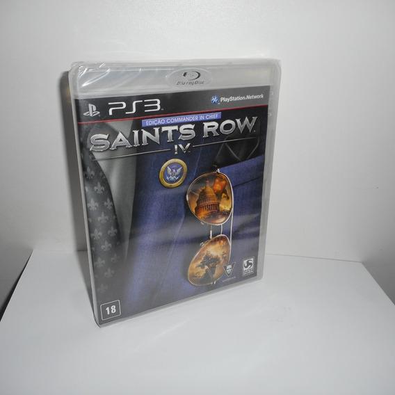 Saints Row Iv Ps3 Mídia Física Novo Lacrado