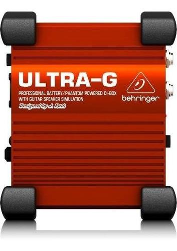Caja De Inyección Directa Activa Behringer Gi100 + Garantía