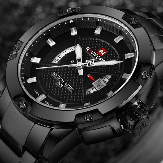 Relógio Masculino Naviforce Esportivo Militar Original