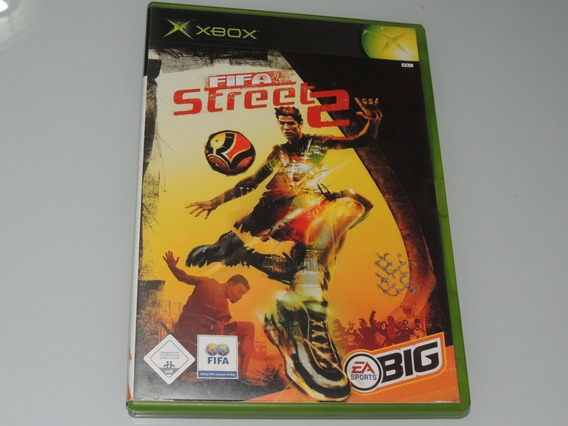 Fifa Street 2 Xbox Clássico Original Pal
