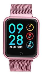 Relógio Smartwatch Smartband Android Iwo iPhone + 1 Pulseira