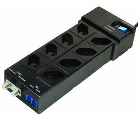 Dps - 8 Tomadas - Clamper Multi Proteção - Preto - 9373