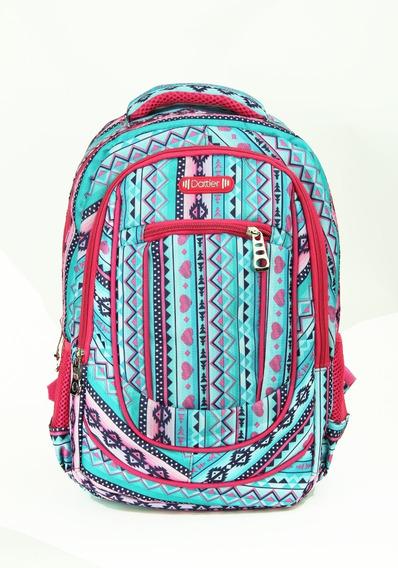 Mochila Escolar Dattier Estampada 15 Pulg Vrios Colores C/en