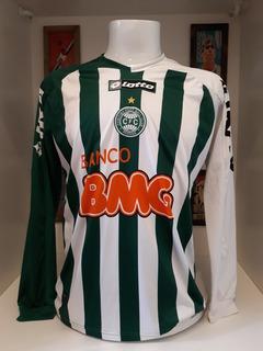 Camisa Futebol Coritiba Mangas Longas