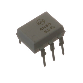 10 * 4n35 Acoplador Ótico A Fototransistor (branco)