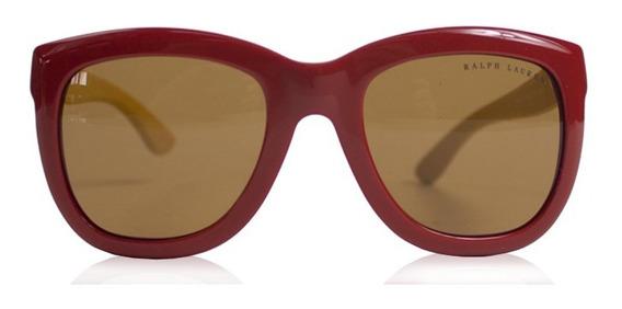 Óculos Ralph Lauren Vermelho E Madeira Ralph Lauren