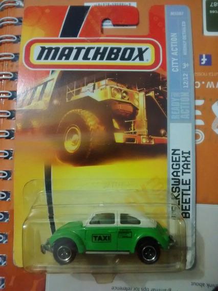 Matchbox Fusca Taxi Mexicano