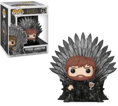 Funko Pop 71 Game Of Thrones - Tyrion Sitting On Iron Throne