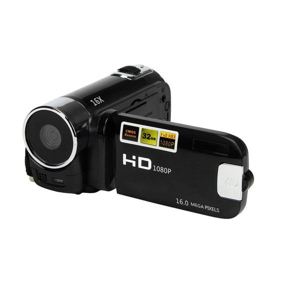 Filmadora De Vídeo Digital Alto Definição 1080p Preto Eu