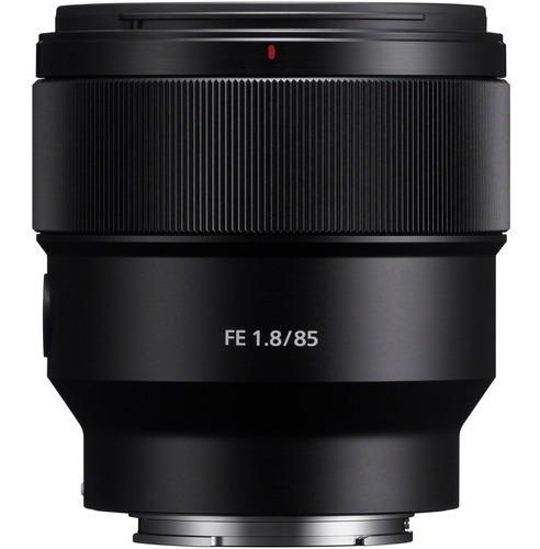 Lente Sony Fe 85mm F/1.8 - Sel85f18 / Sony 85mm 1.8