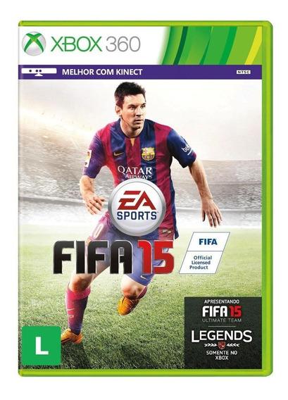 Fifa 2015 Xbox 360 Semi-novo