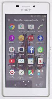 Sony Xperia M2 D2306 Branco Original Nacional Semi Novo