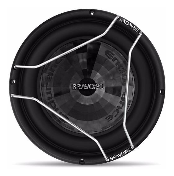 Subwoofer Bravox E2k Endurance 2k 800 Wrms D4+4 12 Polegadas